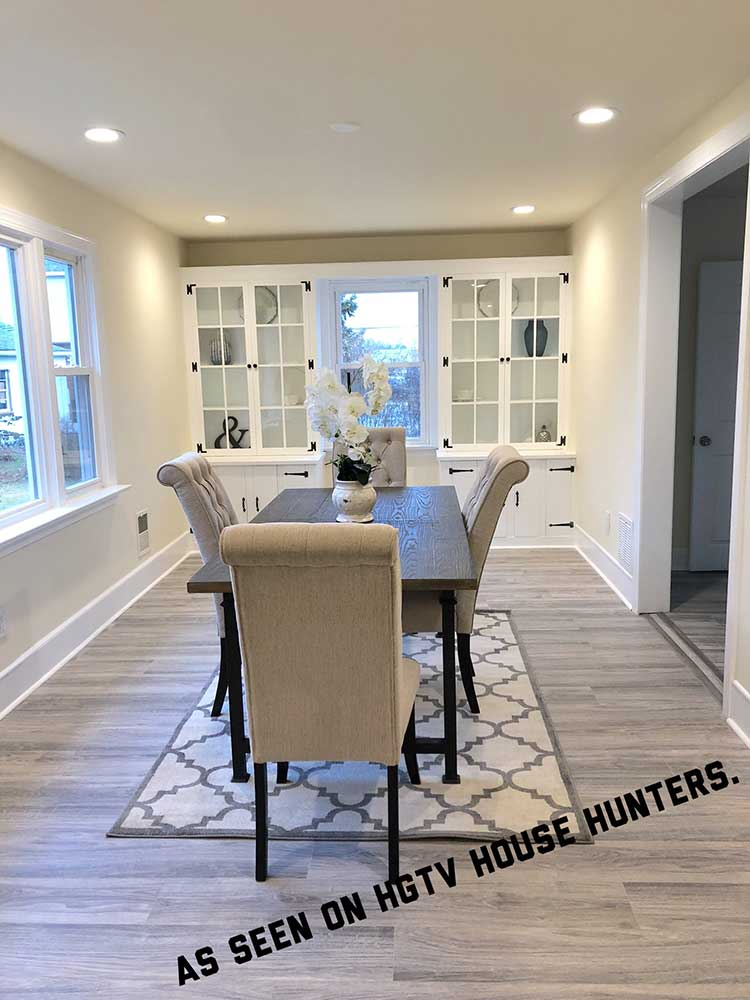 Staged property by UHS selected by HGTV House Hunters